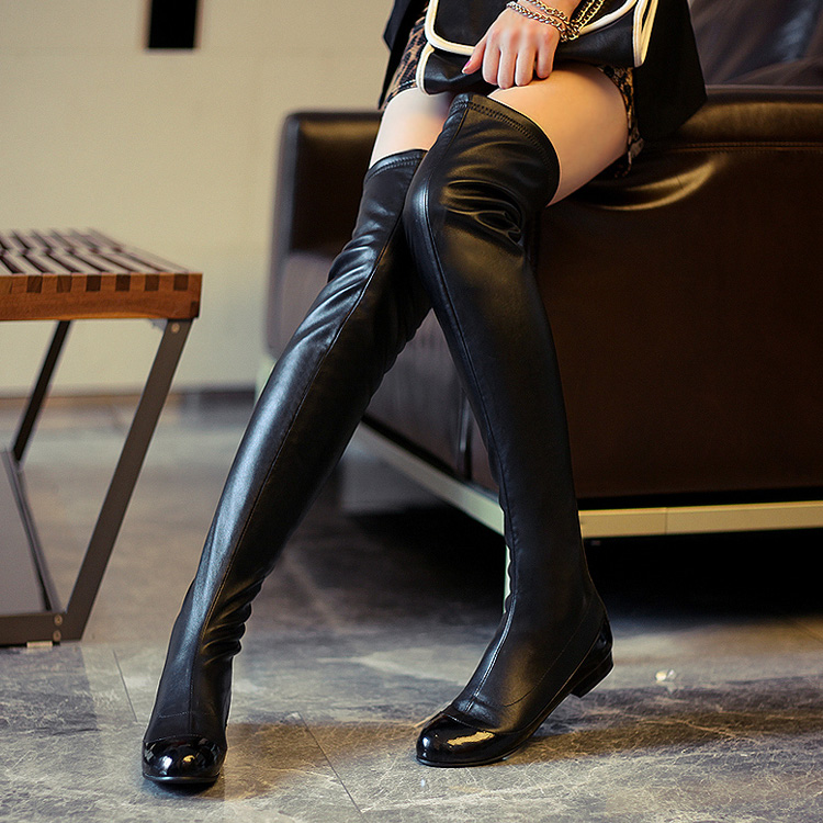 Over The Knee Boots,Fashion Thigh High Boots,black Boots on Luulla